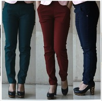 Stella free shipping Plus size clothing mm spring plus size pencil pants skinny pants 3XL - 6xl