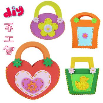 Eva sticker handmade bag handbag many kinds of love toy bag 0.05