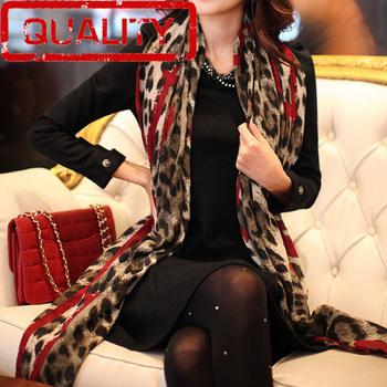 Huge sale Free shipping 180*120cm scarf women cotton tiger print scarf women 2013 animal print