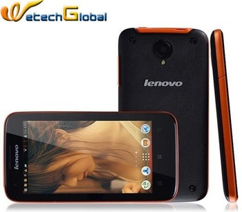 "Original Quad Core Phone Lenovo S750 Android 4.2 mtk6589 1G RAM 4G ROM 4.5"" IPS Screen 3G WCDMA GPS Bluetooth Wifi Dual camera"
