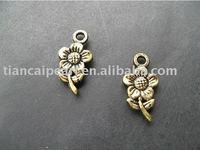 Copper Pendant & Charm DIY Accessories flower