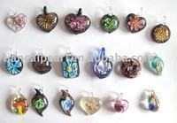 Necklace Morano Glass Pendant