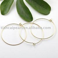 20mm Gold-plated Eearring Wire ,Eearring Hook ,Ear Wire ,Ear Hook