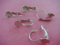 Free shipping!!! 13*26mm white K  Wire ,9mm base Eearring Hook ,Ear Wire ,Ear Hook