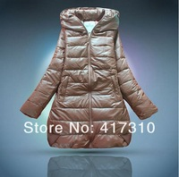 2013 new fashion women down jacket long coat Free shipping ladies winter warm padded parka brand jacket and women jacket