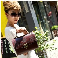 2013 women's bag lacquer vintage carved box female bags handbag 47