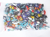 Mixed  Eyes Lampwork Glass Bead