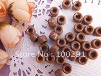 chocolate mini Pony Beads 500pc crafts kandi jewelry