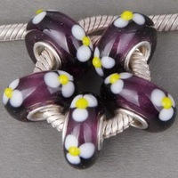 topselling wonderful  fashion big   lampwork glass beads
