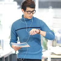 sweater thickening male turtleneck men