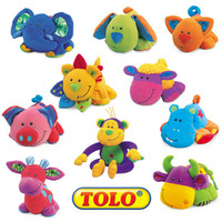 Free Shipping 0-1 year old baby plush toy vocalization tolo cloth dolls placarders dolls