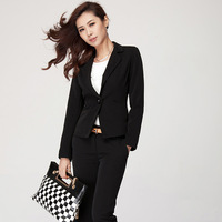 Stella free shipping 2013 spring career dress set long-sleeve suit jacket a short skirt quality professional set