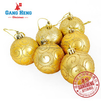 Christmas tree decoration 6cm ball 12g/piece