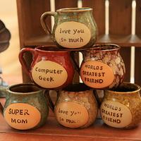 Fashion vintage zakka mug ceramic coffee cup milk cup