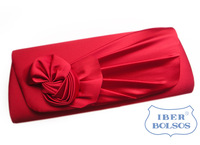 2012 fashion flower clutch pregnantwith women's day clutch bag evening bag red bags the wedding bridal bag