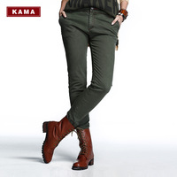 Kama kama 2013 autumn women's fashion slim suspenders casual pants 7313352
