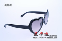 Child sunglasses vintage summer of the love the trend of the sun glasses heart glasses