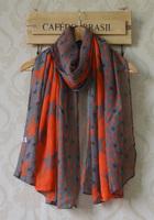 Fall 2013 women designer fashion!Free shipping,women scarves,colorful star print,viscose hijab,scarf fashion style,Muslim hijab