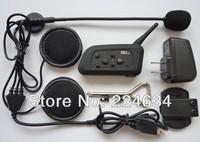 2013 Latest Version 6pcs x Bluetooth Helmet Intercom 1000M Bluetooth Motorcycle Headset Among 4 ridersFree Shipping!