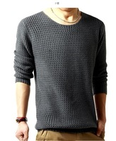 Free shipping 2013 new fashion Slim men's long sleeve pullover sweater men's sweater collar sweater casual comfort
