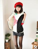 4xl 3xl 100kg bust 120 126cm waist 128cm Plus size clothing autumn coat new arrival vest wadded jacket women clothing