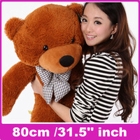Free shipping Low price plush toy plush bear doll teddy bear gifts Stuffed Animals 80cm /31.5'' inch