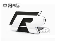 VW scirocco cc golf 3d stereo sports paragraph of r rline metal car stickers