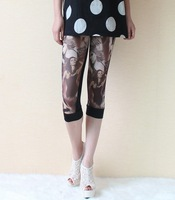 Fashion Gauze Pant Big Yards Pants Leggings Summer Microlens