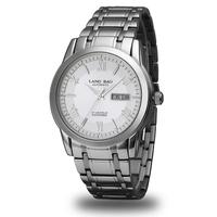 Langbao Dress Business Steel Watch Double Calendar Automatic Male Luminous Commercial Gentlemen Watch