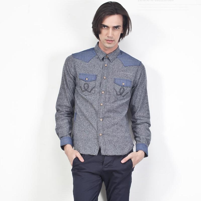 Cotton Jeans Shirts Jeans Shirts For Men