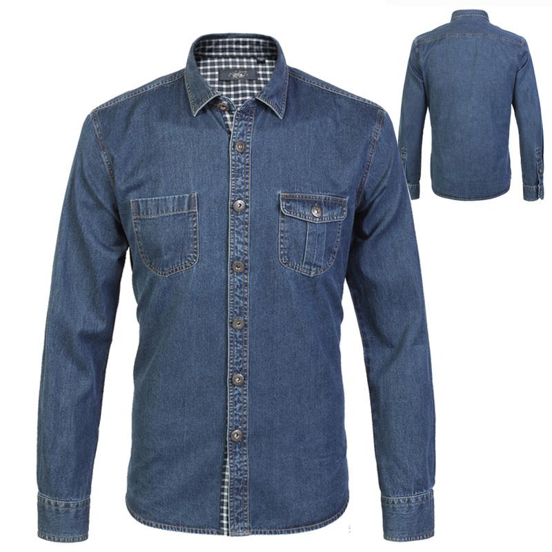 Cotton Jeans Shirts Denim Shirt 100 Cotton