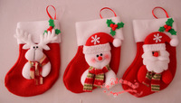 Free shipping! Lotte christmas decoration supplies christmas gift bag  christmas socks bags