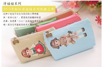 5PC/Lots cute doll pouch /cosmetic cute purse/coin bags /card &mobile case/wallets /portable wallets