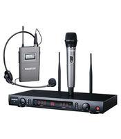 Hot selling Long range 500m UHF wireless microphone X7HP Color black 200 channels UHF broadband segment design free shipping