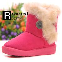 2013 new HOTchildren Snow Boots Thicken Winter Children Shoes For baby Kids child snow boots 5 colour