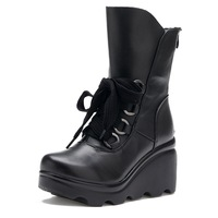 Free Shipping 2013 New Arrival Genuine Leather Women's Boots Spring& Autumn & Winter Women Sexy Boots Lady Boots Shoes