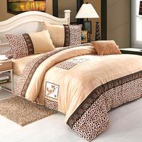 Home textile bedding bed sheet duvet cover piece set princess wedding kit
