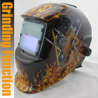 Sexing apperance li battery outside control solar auto darkening/shading grinding/polish welding helmet/welder goggles/mask/cap