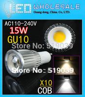 10x Super Bright LED GU10/E27/E14/B22/MR16 Dimmable COB SMD Lamp 9W 12W 15W LED Spotlight Bulb White/Warm/Cool White AC110V-240V