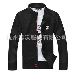 Wholesale 2013 winter new men's boutique agency collar casual cardigan sweater thick coat thin section 391