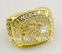 Hot Selling Fans Articles Fashion NFL Football 1997 Denver Broncos Championships Ring Fans Memorial Jewelry Free Shipping