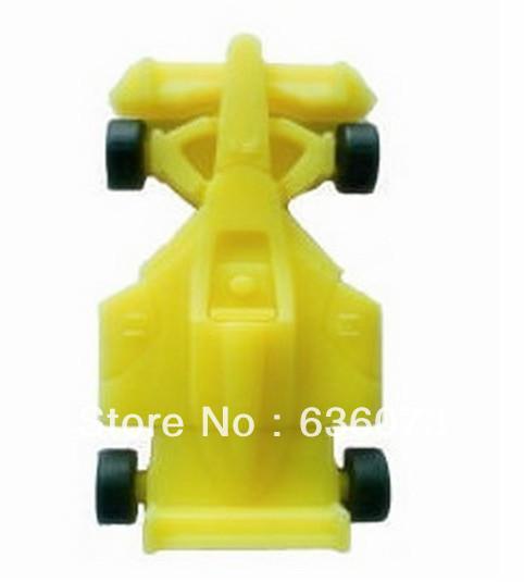Wholesale! real Cartoon F1 Car Yellow 4gb/8gb/16gb/32gb usb 2.0 memory pen disk thumb/drive/gift free shipping(China (Mainland))