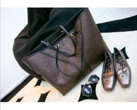 NEW 2013 Fall fashion women's vintage handbag leather Elegant atmosphere women shoulder bag Wholesale