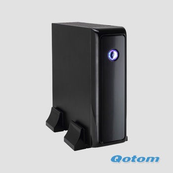 Cheapest thin client mini pc terminal Qotom-I35CT HDMI 1080P video for ubuntu linux windows 7