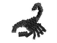LOZ diamond blocks  building toys educational enlighten blocks for children gift free shipping animal  scorpion
