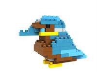 LOZ diamond blocks  building toys educational enlighten blocks for children  free shipping animal woodpecker bird