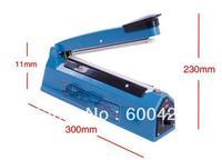 8pcs/lot SF-200  Hand Sealer Impulse Heat Manual Seal Machine Plastic Poly Bag Closer Kit Sealing Length 20cmFree Shipping