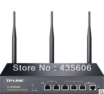 TP cc-link WVR450G 450 m wireless router enterprise VPN router five gigabit port cable
