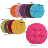 Home Office 50x50CM Roundness Cotton Seat Cushion Chair Pads Soft Corduroy