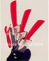 4pc kichen knife  ceramic peeler knife sets